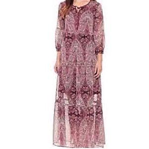 St Johns Bay | NWT Maxi Printed Tiered Dress